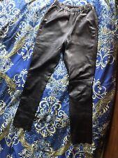 Alexander Wang Leather Joggers Sz Small