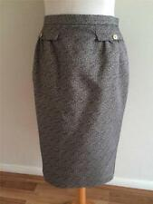 Jaeger Patternless Straight, Pencil Formal Skirts for Women