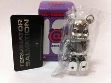 """Medicom Bearbrick Series 18 SF """"Terminator"""" Be@rbrick"""