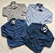 Lot of 4 Boys Long Sleeve Shirts Size 4-6