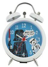 Star Wars Darth Vader Twinbell Mini Alarm Clock. Childs Bedroom Sci Fi Cool Gift