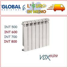 RADIATORE ALLUMINIO GLOBAL VOX EXTRA TERMOSIFONE INTERASSE 500 600 700 800