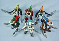 Lego Bionicle Metru Nui VAHKI (8614 - 8619) Set of 6 with Glow in the Dark Disks