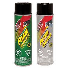 Klotz Air Filter Cleaner KL-608 & Foam Air Filter Oil KL-606 Combo Kit - 2 Pack
