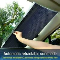 Auto Shade Car Retractable Curtain UV Protection Front Visor Windshield Sun C6U7