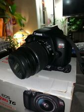 Canon EOS Rebel T6 18.0 MP Digital SLR - Black
