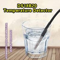 DS18b20 Waterproof Temperature Detector Thermal Probe Sensor Module for Arduino