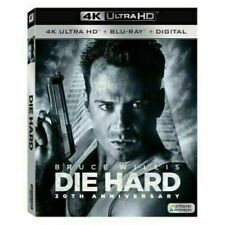 Die Hard 4K Uhd Blu-ray in a Regular Blu-Ray Case & Papers