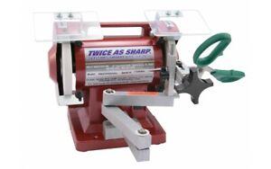 Wolff Twice As Sharp Scissor Sharpener Complete Shear Sharpener System NEW 110V