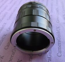 Macro Extension Tube for Olympus EVOLT E-620 EVOLT E-600 EVOLT E-510 EVOLT E-500