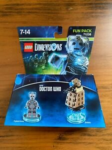 LEGO Dimensions 71238: Cyberman Fun Pack - Doctor Who - NEW!