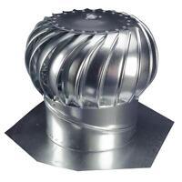 12'' Whirlybird Attic Steel Wind Turbine Roof Vent Exhaust Fan Rotary Ventilator