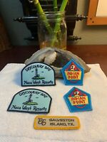 American Indian Tribal Patch Iron On Embroidered LOT Of 5 Vintage Patches NEW