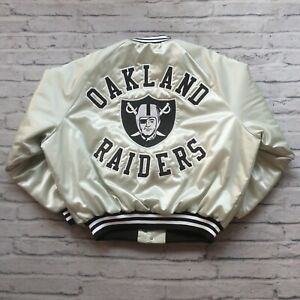 Vintage Rare 90s Oakland Raiders Satin Jacket King Louie Los Angeles Las Vegas