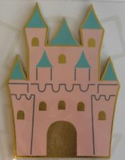 Horizon Retro Pop Cool Little Patch Things Castle Pink Gold Tower Patch