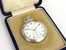 Authentic Longines Vintage Mechanical Hand-winding Pocket Watch + Case