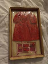 Lisa Littlechap Red Nightwear Outfit Vintage
