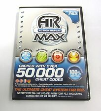 PS2 - Action Replay Max Intec Datel Bulk Playstation 2 50000 Cheat Codes