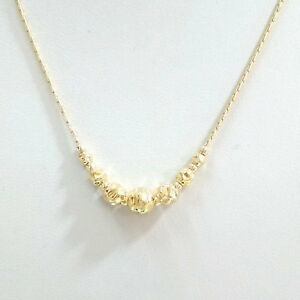 14kt Gold Filled Graduated HAMMERED Beads NECKLACE - Made to your size!