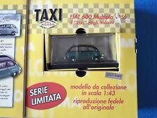40 DE AGOSTINI FIAT 600 MULTIPLA 1956 TAXI SCALA 1:43 edizione limitata CVGM3/19