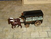 LLEDO - DAYS GONE - HORSE DRAWN LARGE VAN -  HEATON & SON  REMOVALS - BOXED