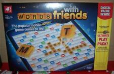 Hasbro Zynga Words with Friends GREAT Board Game 13 yrs + 2-4 Players NEW IN BOX