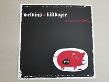 "Melvins / Killdozer ‎– Sugar Daddy Live Split Series, Clear vinyl, 12"" single"