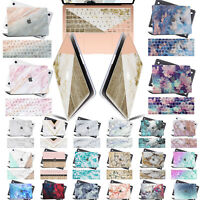 "Matt Marble Design Printed Hard Case Shell Keyboard Cover For Macbook PRO 13""NEW"