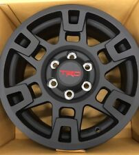 "🔥17"" Black Toyota Trd Pro Wheels Toyota Tacoma, 4Runner, Fj Cruiser Set of 4🔥"