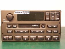 New AM FM Cassette w CD Ctrl Alpine Ford LINCOLN TOWN 1W1F-18C870-GB