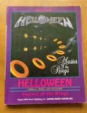 HELLOWEEN / Master Of The Rings / JAPAN BAND SCORE GUITAR TAB