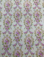 Nuevos Auto-Adhesivo Floral Remolino hoja de papel pintado para casa de muñecas en escala 12th