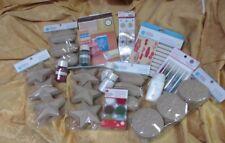 Martha Stewart lot 6lbs -15 Paper mache Boxes * Flocking Powder * Glitter * Glue