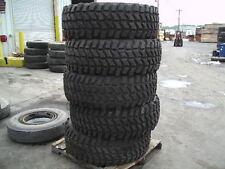 Military Surplus Goodyear 395/85R20 Super Single MV/T Take Off Tire 70% Tread