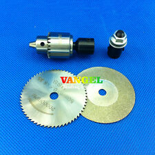 FitSain--Used for motor shaft 5mm Cutting Saw blade 50mm Drill chuck JT0 0.3-4mm