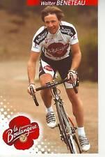 CYCLISME carte cycliste WALTER BENETEAU équipe LA BOULANGERE 2004