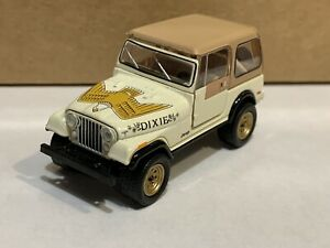 """Greenlight Hobby Exclusive 1979 Jeep CJ-7 Golden Eagle """"Dixie """"  Loose Mint"""