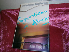Book* Suggestions of Abuse by Michael Yapko, PhD (2009, HC DJ) like new