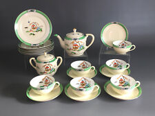 Noritake, Morimura Bros. porcelain tea or coffee set hand painted Japan c.1930's
