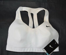 NWT Nike Fit Dry 381304 Sports Training Bra high intensity White SMALL