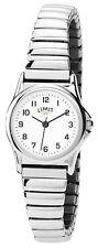 Limit Ladies White Dial Silver Expanding Bracelet Watch 6999