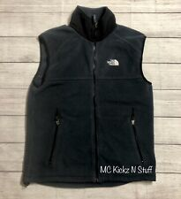 THE NORTH FACE VEST STONE BLUE / BLACK SIZE MEDIUM PRE OWNED EXCELLENT CONDITION