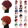 Turban Beanie Cap Muslim Headwear Scarf Women Hair Loss Chemo Cancer Hat Bonnet