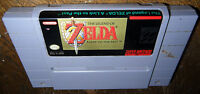 Super Nintendo Game LEGEND OF ZELDA: LINK TO THE PAST! Cleaned, BATTERY SAVES!