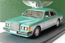 BENTLEY MULSANNE TURBO R GREEN GREY 1982 NEO 44168 1/43 LHD LEFT HAND DRIVE