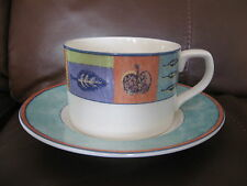 LOVELY ROYAL DOULTON TRAILFINDER CUP AND SAUCER