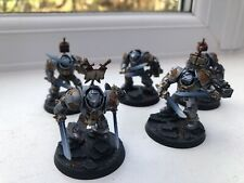 Pro-painted Grey Knights Terminator/Paladin Squad Warhammer 40,000 - 5 Man