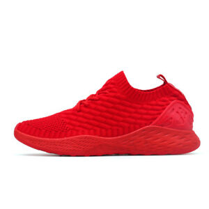 Men's Running Shoes Breathable Basketball Outdoor Sports Sock Shoes Sneakers