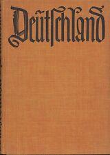 Max Barthel: Deutschland - Lichtbilder u.Schattenrisse e.Reise, Büchergilde 1926