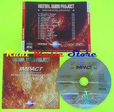 CD VIRTUAL AUDIO PROJECT Impact REALOGIC REFLEX Y-RAY EFFECT SCMC ARP mc (C58*)